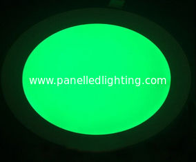 Waterproof 18w RGB round led panel light for home , office , hospital